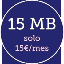 internet inalámbrico 15 mb