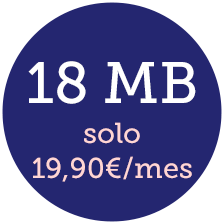 internet inalámbrico 18 mb
