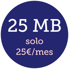 internet inalámbrico 25 mb