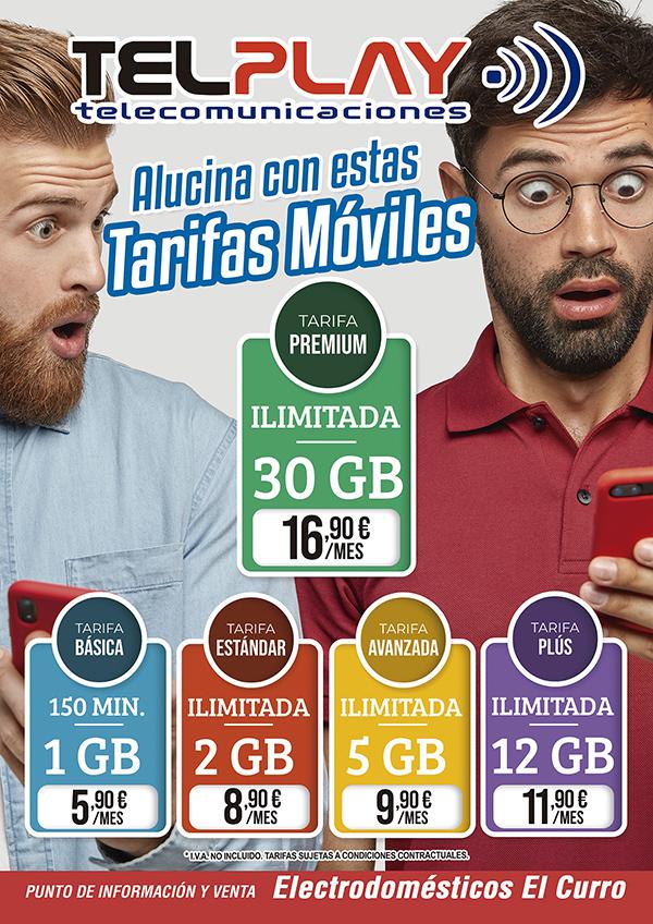 tarifas móviles telplay