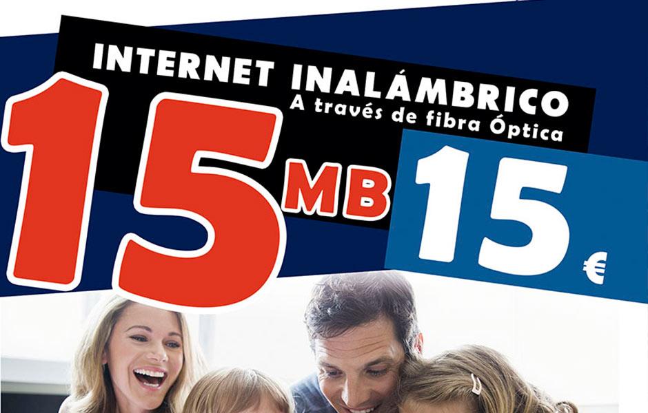 Nuevas tarifas de Internet Inalámbrico
